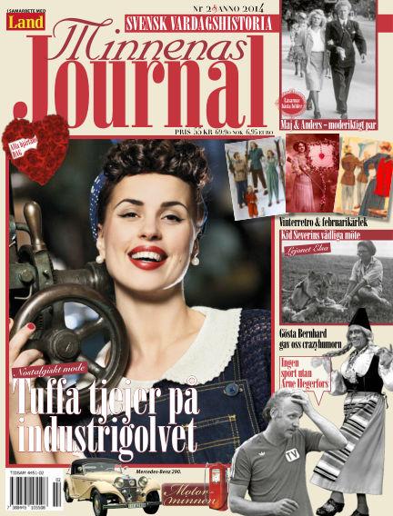 """Minnenas Journal (Titel sammanslagen med """"Svenska Öden & Äventyr"""") February 03, 2014 00:00"""