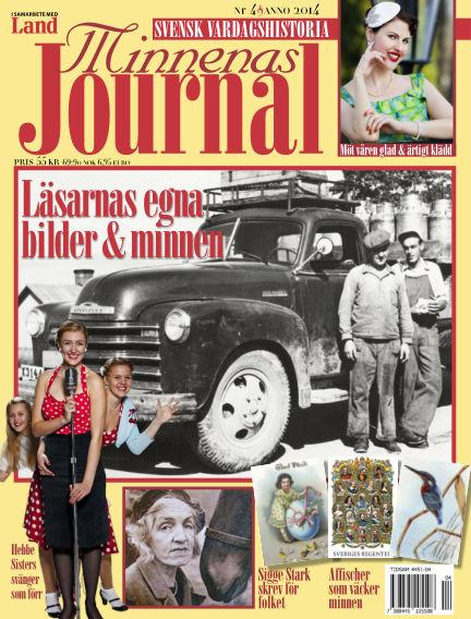 """Minnenas Journal (Titel sammanslagen med """"Svenska Öden & Äventyr"""") April 03, 2014 00:00"""