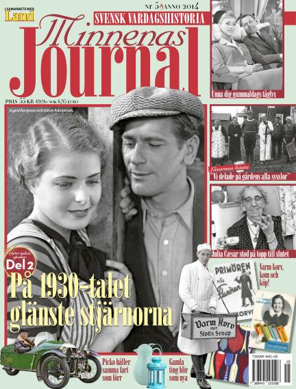 """Minnenas Journal (Titel sammanslagen med """"Svenska Öden & Äventyr"""") May 06, 2014 00:00"""