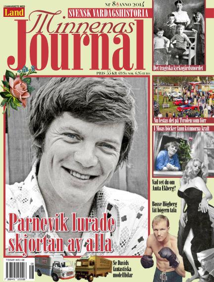 """Minnenas Journal (Titel sammanslagen med """"Svenska Öden & Äventyr"""") August 07, 2014 00:00"""