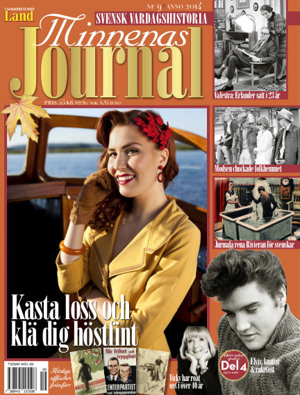 "Minnenas Journal (Titel sammanslagen med ""Svenska Öden & Äventyr"") September 04, 2014 00:00"