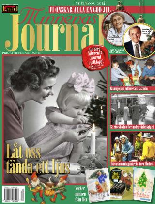 """Minnenas Journal (Titel sammanslagen med """"Svenska Öden & Äventyr"""") 2014-12-03"""