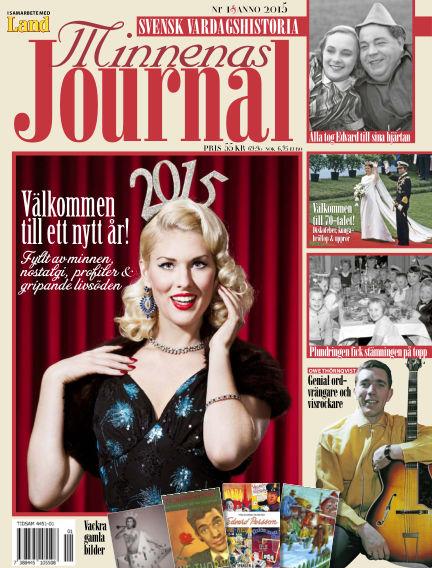 """Minnenas Journal (Titel sammanslagen med """"Svenska Öden & Äventyr"""") December 30, 2014 00:00"""