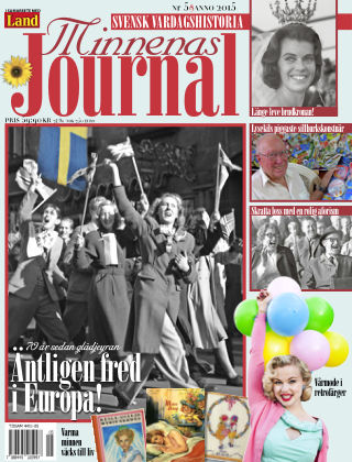 """Minnenas Journal (Titel sammanslagen med """"Svenska Öden & Äventyr"""") 2015-05-05"""
