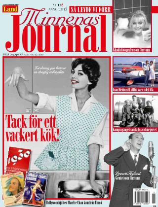 """Minnenas Journal (Titel sammanslagen med """"Svenska Öden & Äventyr"""") 2015-11-05"""