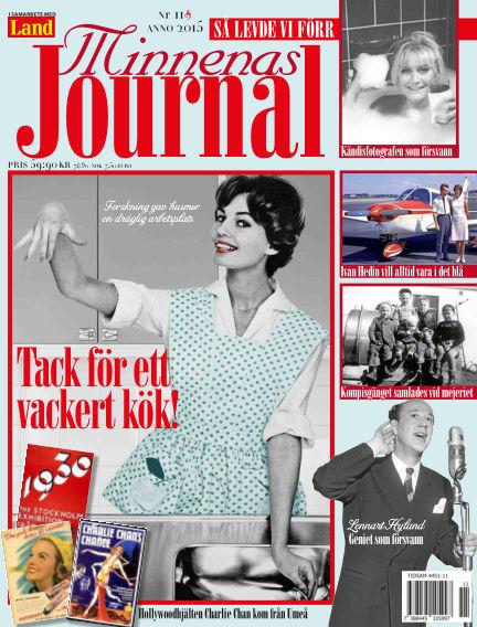 """Minnenas Journal (Titel sammanslagen med """"Svenska Öden & Äventyr"""") November 05, 2015 00:00"""