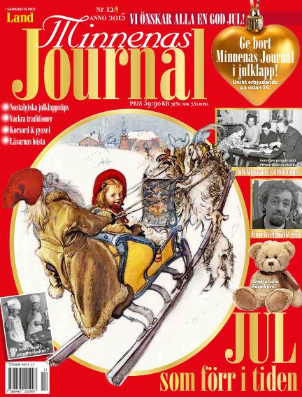 """Minnenas Journal (Titel sammanslagen med """"Svenska Öden & Äventyr"""") December 02, 2015 00:00"""