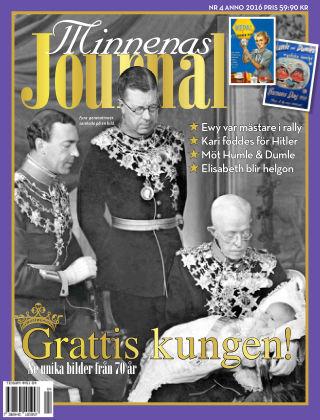 """Minnenas Journal (Titel sammanslagen med """"Svenska Öden & Äventyr"""") 2016-04-05"""