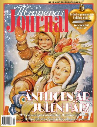 """Minnenas Journal (Titel sammanslagen med """"Svenska Öden & Äventyr"""") 2016-12-02"""