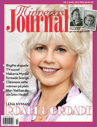 """Minnenas Journal (Titel sammanslagen med """"Svenska Öden & Äventyr"""") 2017-01-26"""