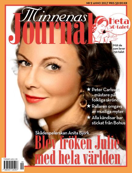 """Minnenas Journal (Titel sammanslagen med """"Svenska Öden & Äventyr"""") August 31, 2017 00:00"""