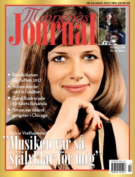 """Minnenas Journal (Titel sammanslagen med """"Svenska Öden & Äventyr"""") October 05, 2017 00:00"""