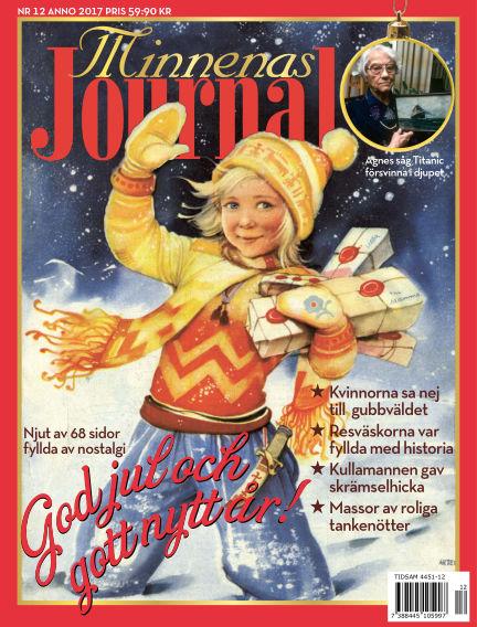 """Minnenas Journal (Titel sammanslagen med """"Svenska Öden & Äventyr"""") November 30, 2017 00:00"""