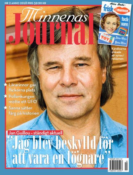 """Minnenas Journal (Titel sammanslagen med """"Svenska Öden & Äventyr"""") January 25, 2018 00:00"""