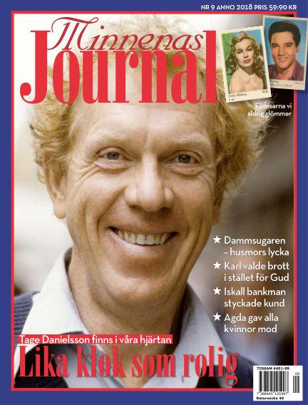 """Minnenas Journal (Titel sammanslagen med """"Svenska Öden & Äventyr"""") September 04, 2018 00:00"""