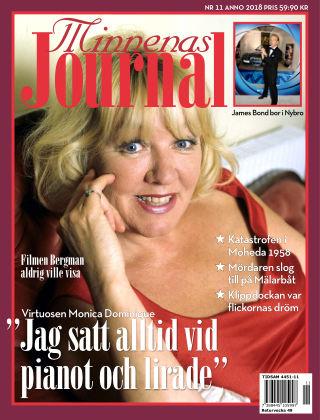 """Minnenas Journal (Titel sammanslagen med """"Svenska Öden & Äventyr"""") 2018-11-01"""
