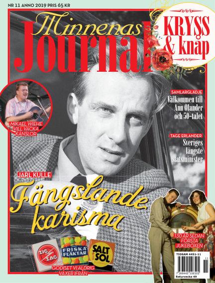 """Minnenas Journal (Titel sammanslagen med """"Svenska Öden & Äventyr"""") November 05, 2019 00:00"""