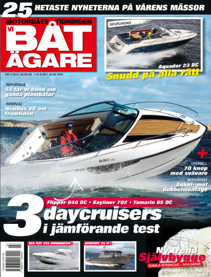 Vi Båtägare (Inga nya utgåvor) February 28, 2013 00:00