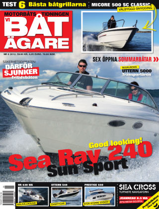 Vi Båtägare (Inga nya utgåvor) 2012-05-22