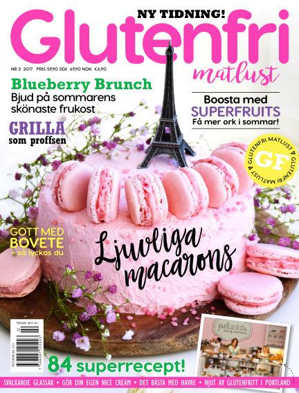 Glutenfri Matlust (Inga nya utgåvor) June 01, 2017 00:00