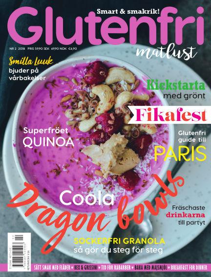 Glutenfri Matlust (Inga nya utgåvor) April 19, 2018 00:00