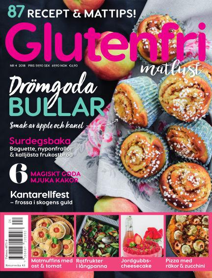 Glutenfri Matlust (Inga nya utgåvor) August 23, 2018 00:00
