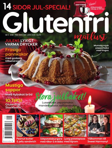 Glutenfri Matlust (Inga nya utgåvor) October 25, 2018 00:00