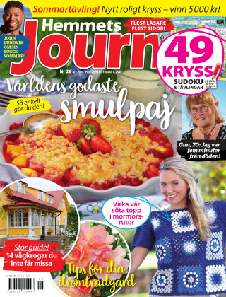 Hemmets Journal 2019-07-04