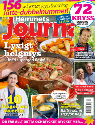 Hemmets Journal 2020-10-22