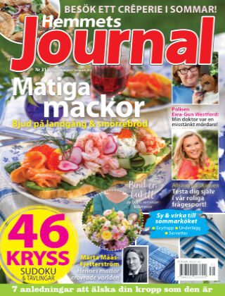 Hemmets Journal Nr 31 2021