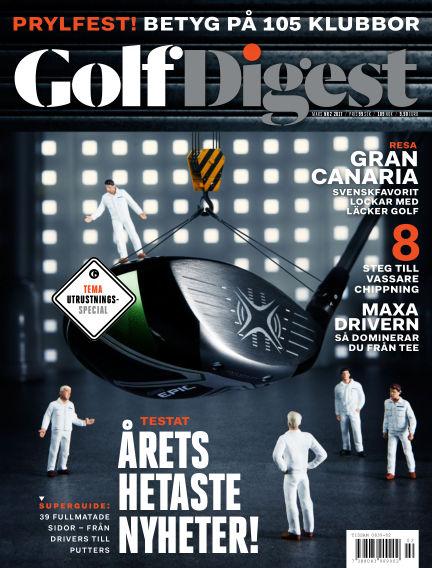 Golf Digest (Inga nya utgåvor) March 17, 2017 00:00
