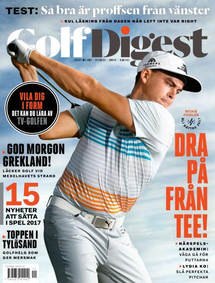 Golf Digest (Inga nya utgåvor) January 20, 2017 00:00