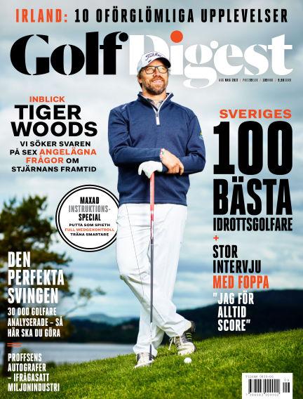 Golf Digest (Inga nya utgåvor) August 04, 2017 00:00