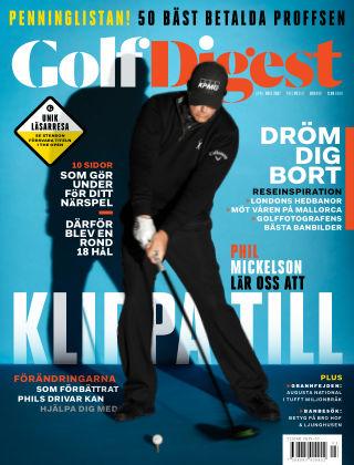 Golf Digest (Inga nya utgåvor) 2017-04-12