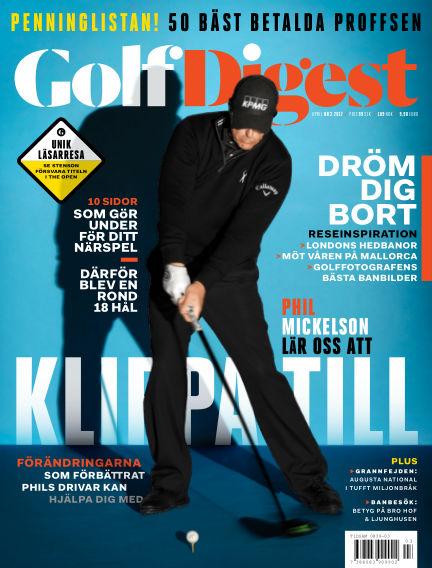Golf Digest (Inga nya utgåvor) April 12, 2017 00:00