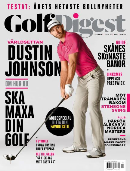 Golf Digest (Inga nya utgåvor) May 12, 2017 00:00