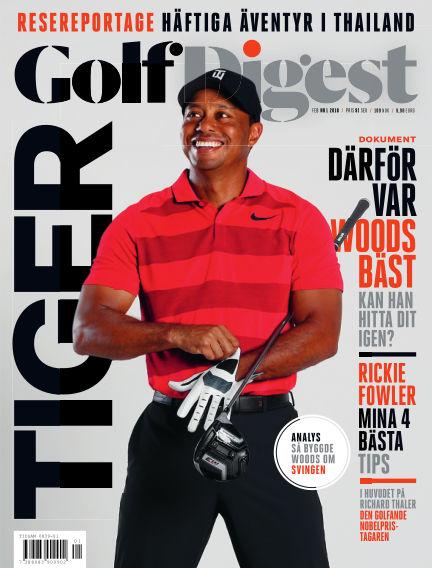 Golf Digest (Inga nya utgåvor) January 30, 2018 00:00
