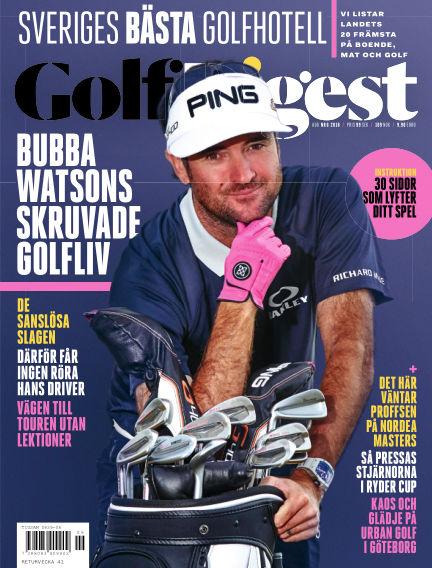 Golf Digest (Inga nya utgåvor) August 07, 2018 00:00