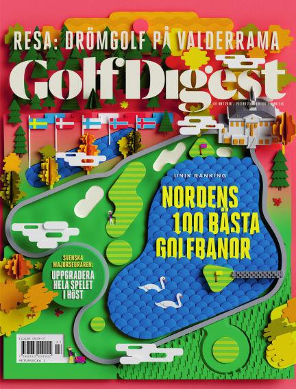 Golf Digest (Inga nya utgåvor) October 09, 2018 00:00