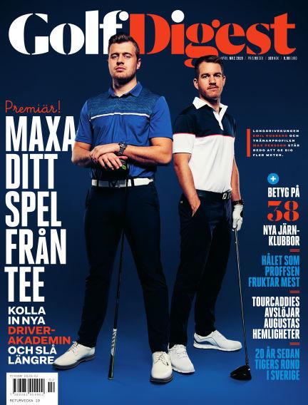 Golf Digest (Inga nya utgåvor) April 02, 2019 00:00