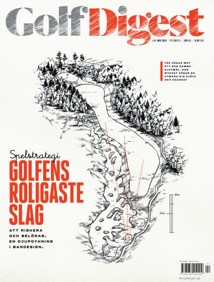 Golf Digest (Inga nya utgåvor) June 04, 2019 00:00