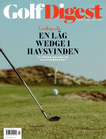 Golf Digest (Inga nya utgåvor) July 09, 2019 00:00