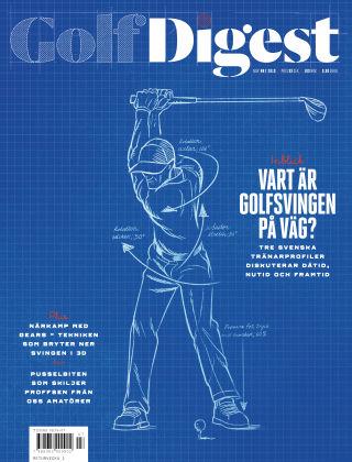 Golf Digest (Inga nya utgåvor) 2019-10-08