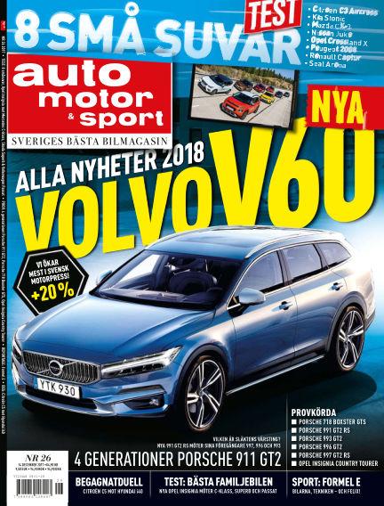 Auto Motor & Sport December 12, 2017 00:00