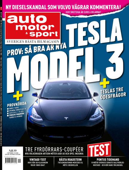 Auto Motor & Sport September 05, 2017 00:00