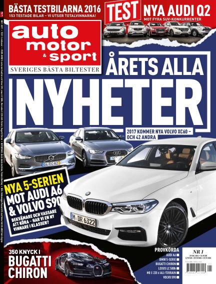 Auto Motor & Sport December 27, 2016 00:00