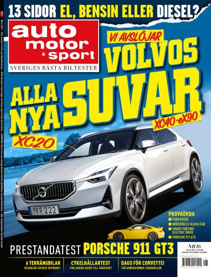 Auto Motor & Sport July 25, 2017 00:00