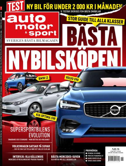 Auto Motor & Sport August 21, 2017 00:00