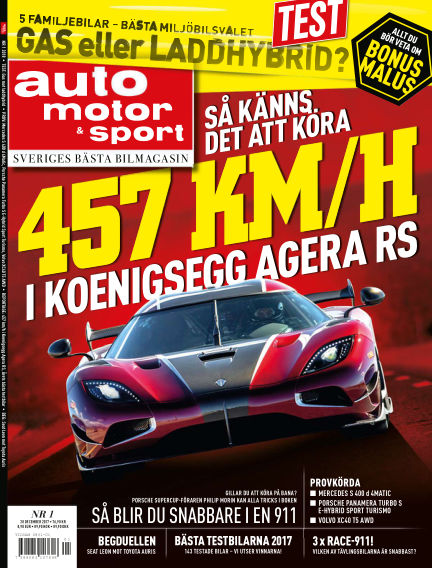 Auto Motor & Sport January 01, 2018 00:00