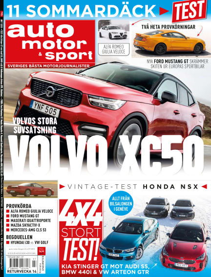 Auto Motor & Sport March 22, 2018 00:00